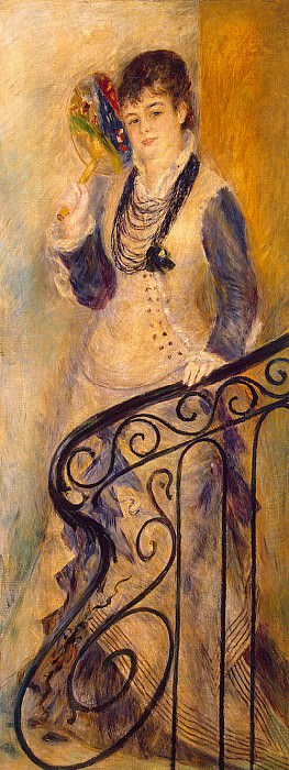 Renoir, Pierre-Auguste - Woman on the stairs. Hermitage ~ part 10