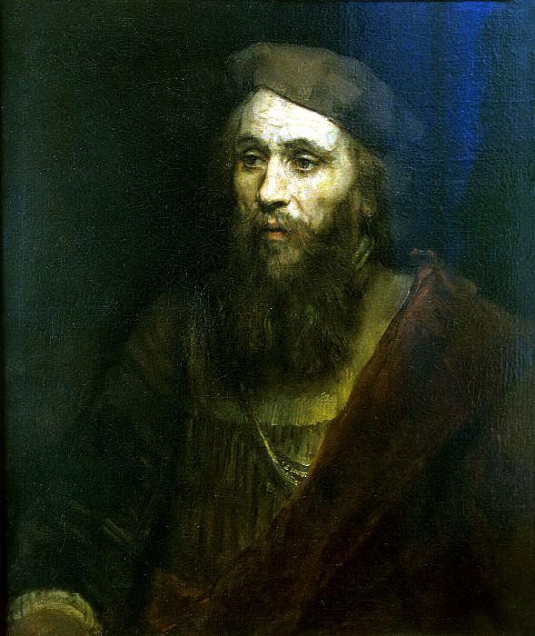 Rembrandt, Harmenszoon van Rijn - Mans portrait. Hermitage ~ part 10