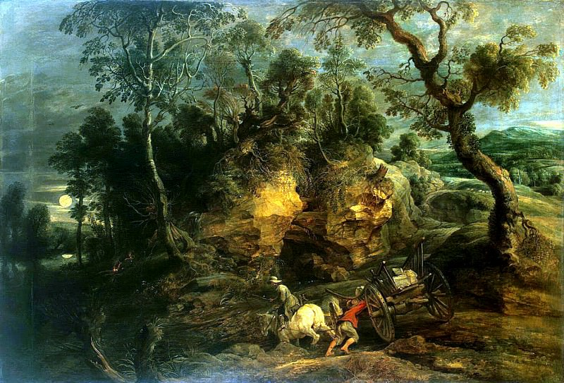 The drivers stones. Peter Paul Rubens