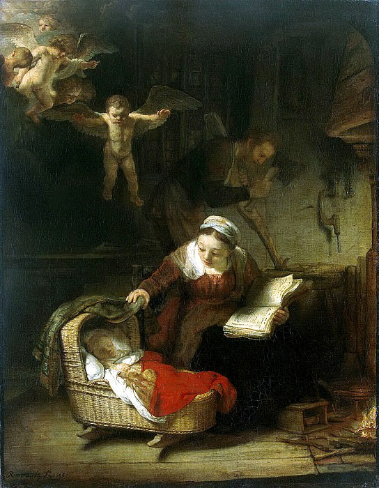 Rembrandt, Harmenszoon van Rijn - The Holy Family. Hermitage ~ part 10