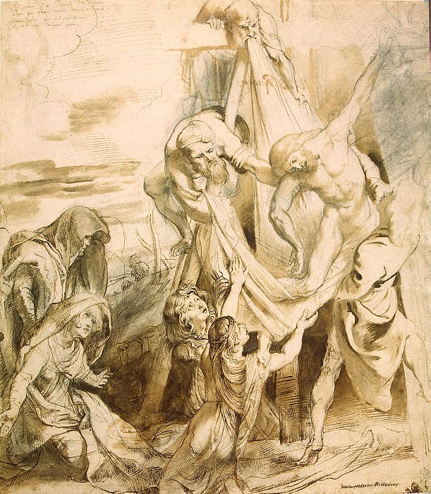 Rubens, Peter Paul - Descent from the Cross (3). Hermitage ~ part 10