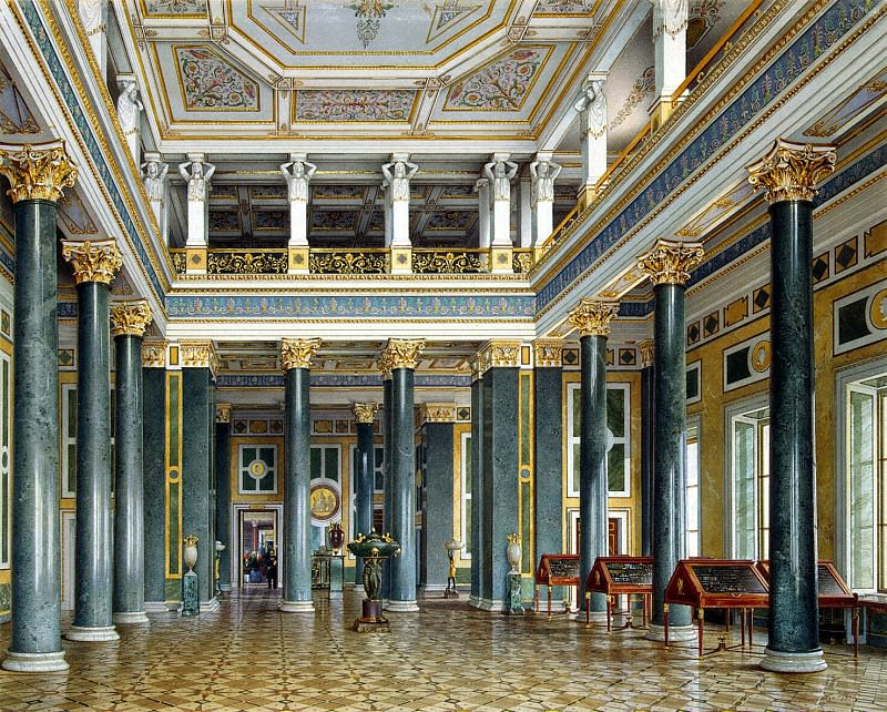 Premazzi, Luigi - Types halls of the New Hermitage. Hall of coins and medals. Hermitage ~ part 10