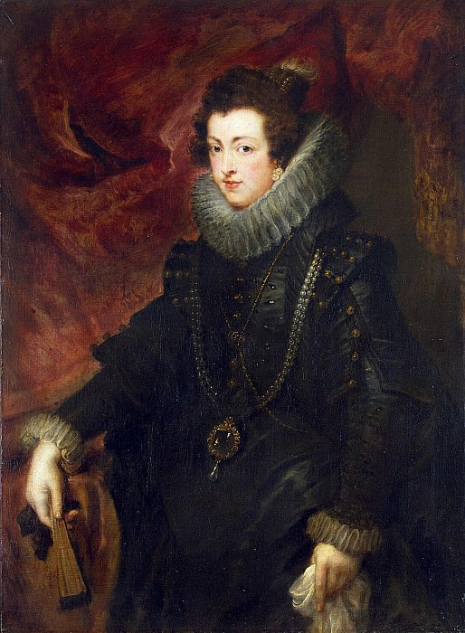 Portrait of Queen Elizabeth. Peter Paul Rubens