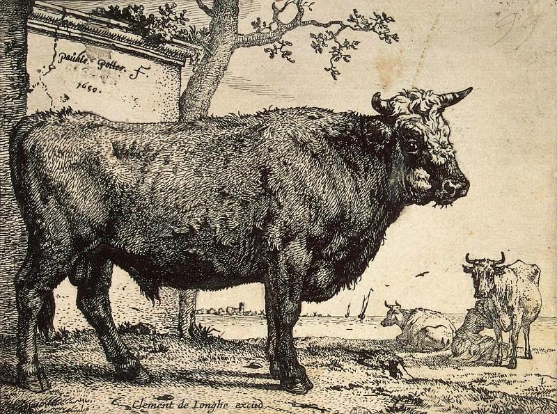 Potter, Paulus - Bull. Hermitage ~ part 10