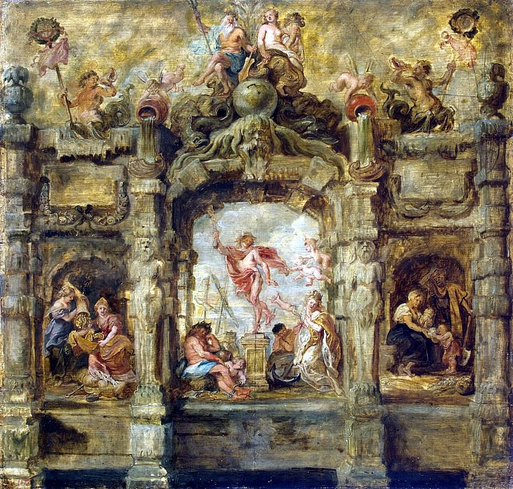 Rubens, Peter Paul - Receding Mercury. Hermitage ~ part 10