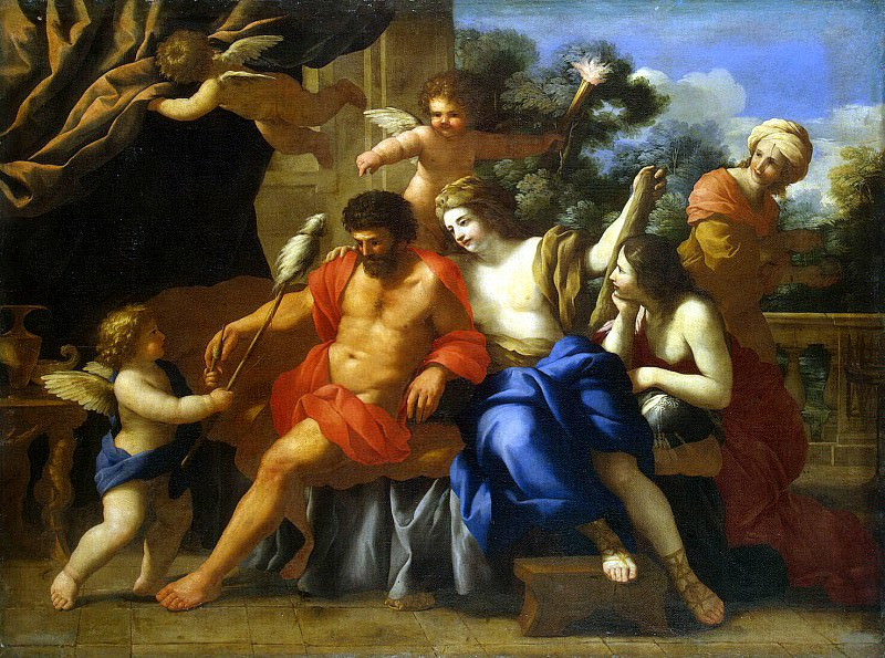 Romanelli, Giovanni Francesco - Hercules and Omphale. Hermitage ~ part 10