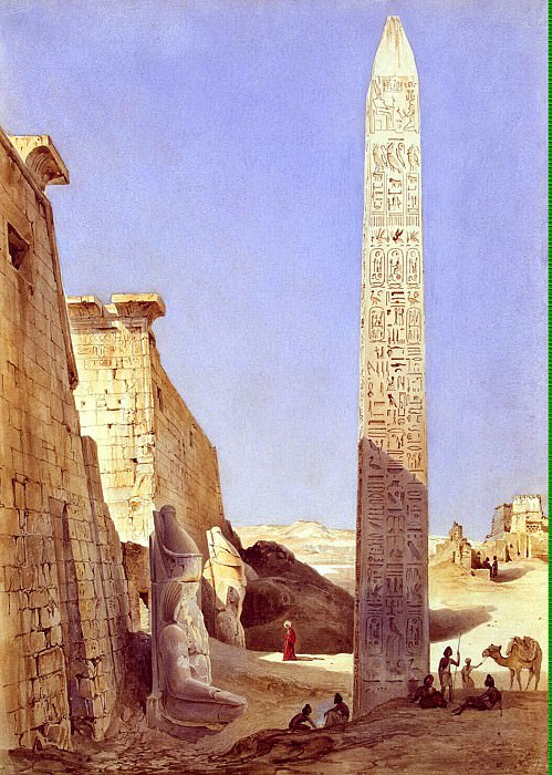 Perron, Charles - Karnak Palace in Thebes. Hermitage ~ part 10