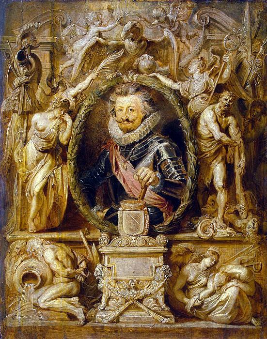 Rubens, Peter Paul - Portrait of Charles de Longvalya. Hermitage ~ part 10