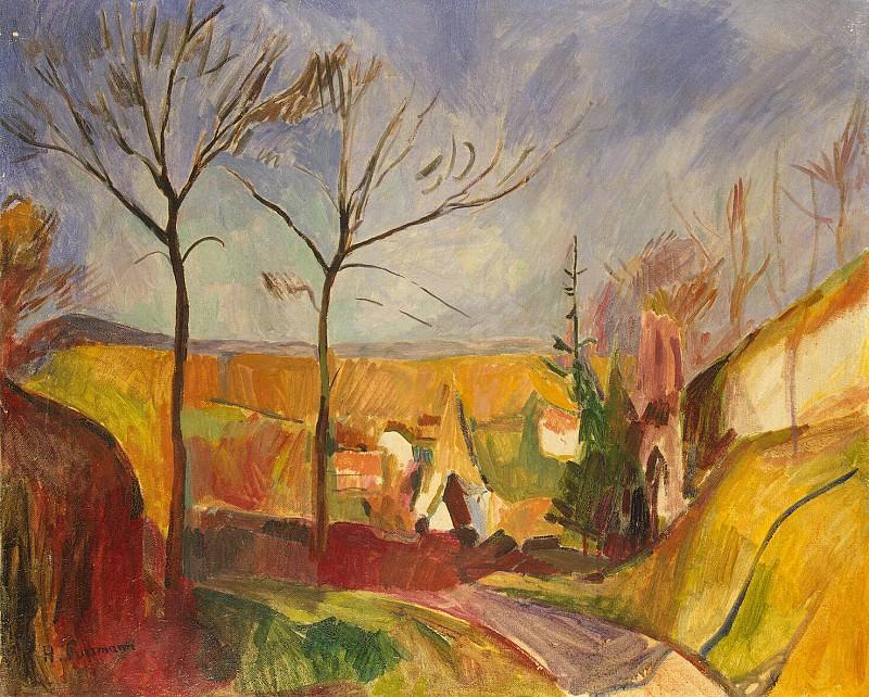 Purmann, Hans - Landscape. Hermitage ~ part 10