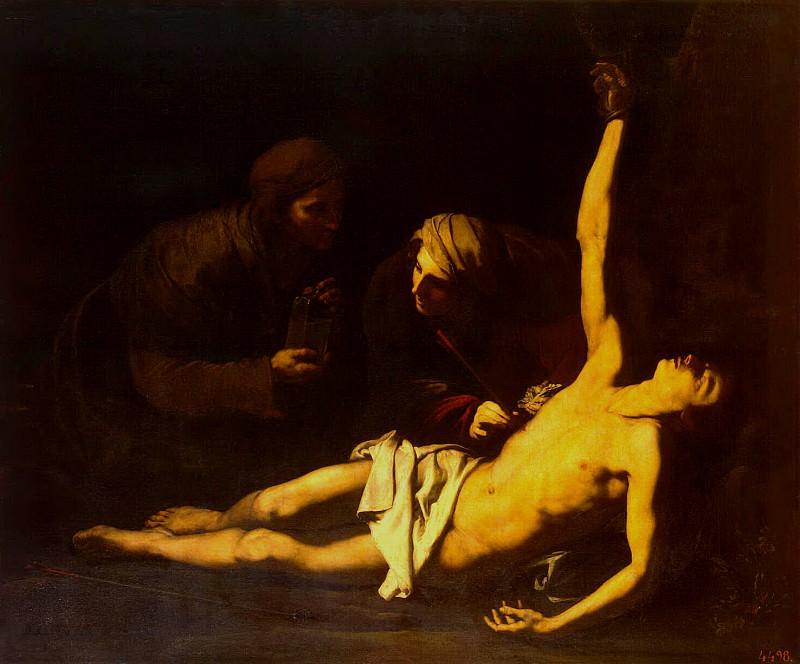 Рибера, Хосе де - Св. Себастьян и св. Ирина. Эрмитаж ~ часть 10