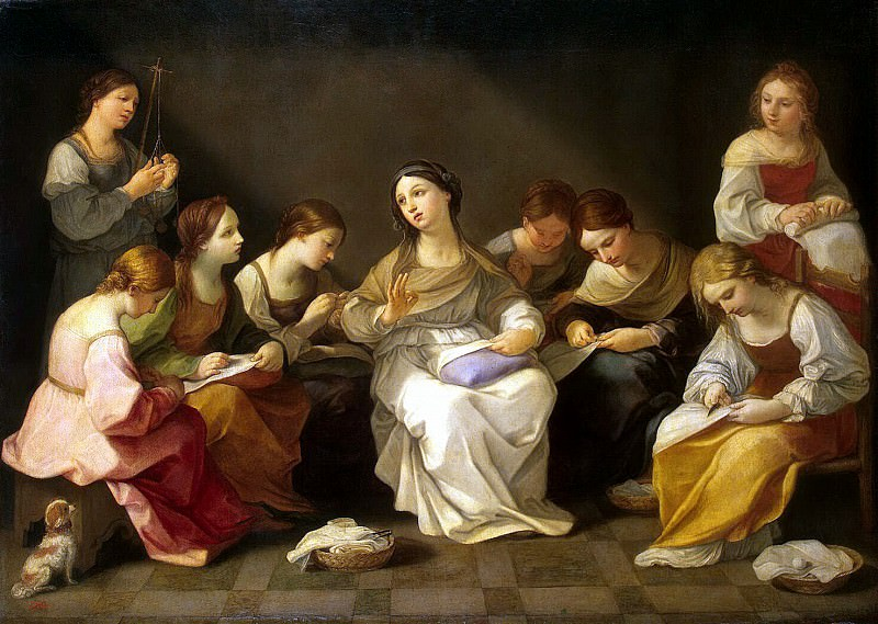 Reni, Guido - Youth of the Virgin Mary. Hermitage ~ part 10