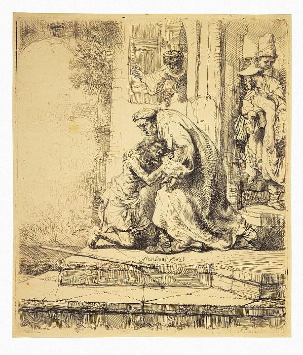 Рембрандт Харменс ван Рейн - Возвращение блудного сына (2). Эрмитаж ~ часть 10