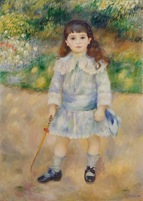 Renoir, Pierre-Auguste - Child with a Whip. Hermitage ~ part 10