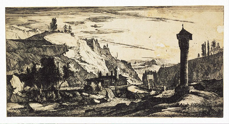 Rogman, Rulant - Tyrolean Landscape with a Column. Hermitage ~ part 10