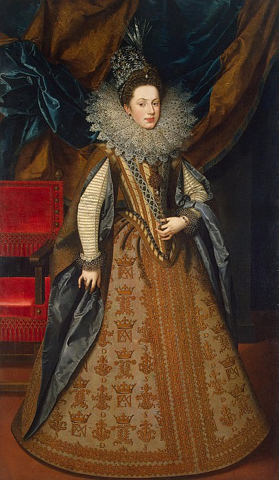 Pourbus, Frans the Younger - Portrait of Margaret of Savoy, the Duchess of Mantua. Hermitage ~ part 10