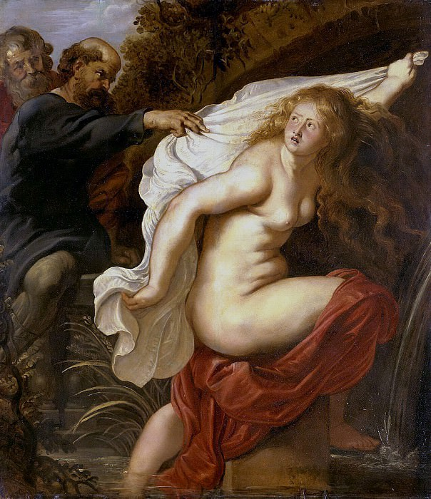 Rubens, Peter Paul - Susanna and the Elders. Hermitage ~ part 10