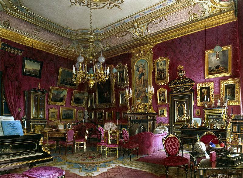 Premazzi, Luigi - Mansion of Baron AL Stieglitz. Cabinet Baroness. Hermitage ~ part 10