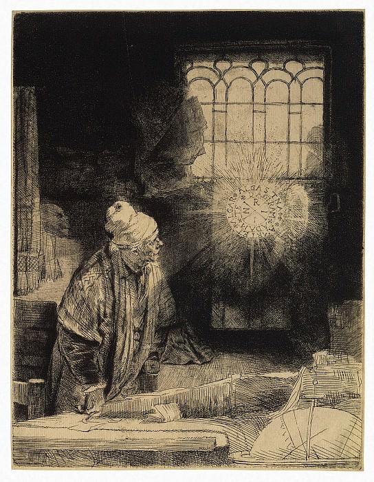 Rembrandt, Harmenszoon van Rijn - Doctor Faustus. Hermitage ~ part 10