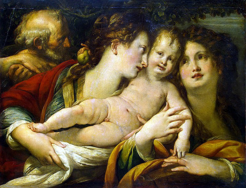 Прокаччини, Джулио Чезаре - Святое Семейство. Эрмитаж ~ часть 10