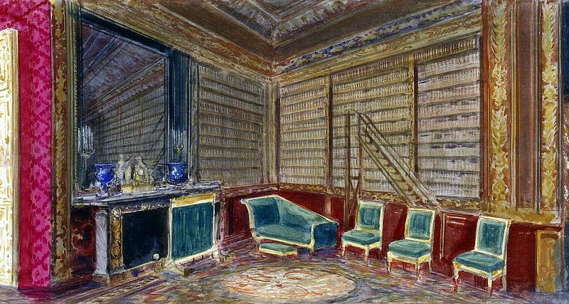 Piasecki, Pavel Ya - The Library of Nicholas II in the Compiegne Chateau. Hermitage ~ part 10