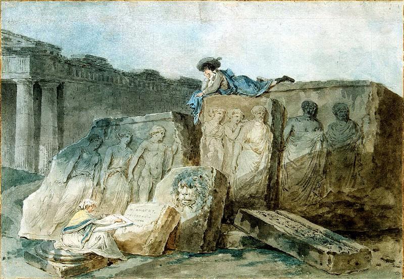 Robert, Hubert - Artist among the ancient ruins. Hermitage ~ part 10