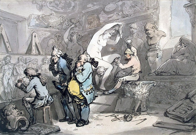 Roulandson, Thomas - In the sculptor. Hermitage ~ part 10