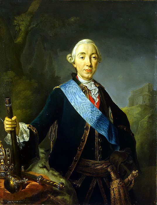Pfantselt, Lucas Conrad - Portrait of Peter III. Hermitage ~ part 10