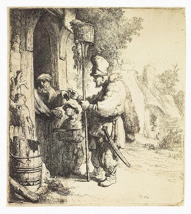 Rembrandt, Harmenszoon van Rijn - Ratcatcher. Hermitage ~ part 10