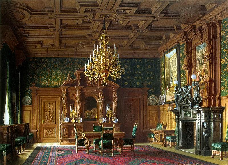 Premazzi, Luigi - Mansion of Baron AL Stieglitz. Canteen. Hermitage ~ part 10