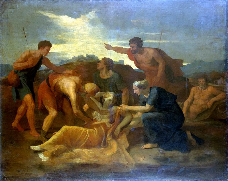 Salvation Zenobia. Nicolas Poussin