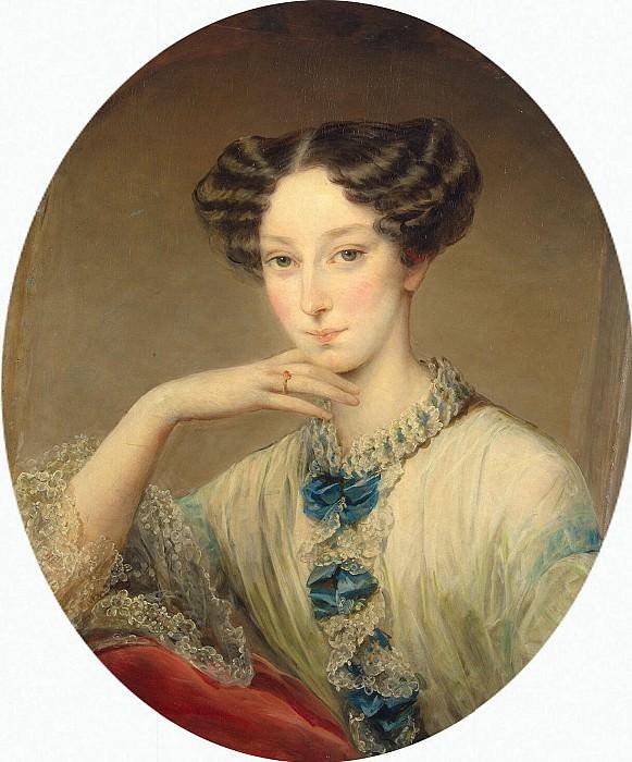Robertson, Christina - Portrait of Grand Duchess Maria Alexandrovna of. Hermitage ~ part 10