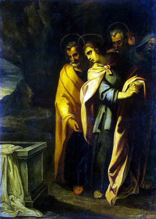 Ribalta, Francisco - The Apostles at the tomb of Christ. Hermitage ~ part 10