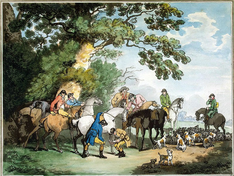 Roulandson, Thomas - Morning departure to the hunt. Hermitage ~ part 10