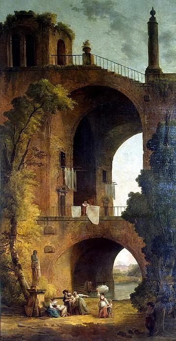 Robert, Hubert - Landscape with Ruins. Hermitage ~ part 10