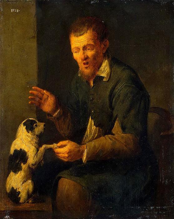 Reykart, David III - Farmer with a dog. Hermitage ~ part 10