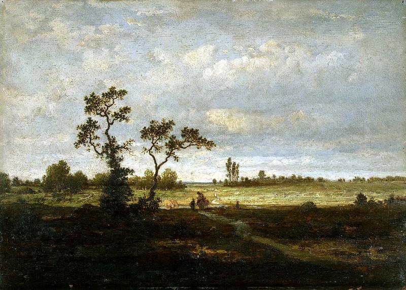 Rousseau, Theodore - Landscape. Hermitage ~ part 10
