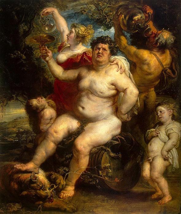 Rubens, Peter Paul - Bacchus. Hermitage ~ part 10