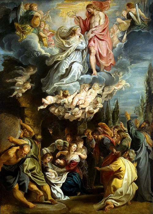 Rubens, Peter Paul - The Coronation of Madonna. Hermitage ~ part 10