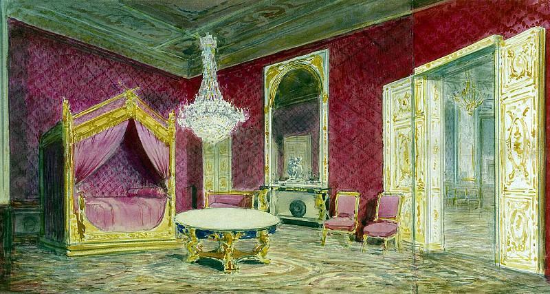 Piasecki, Pavel Ya - Room of Nicholas II in the castle of Compiègne. Hermitage ~ part 10