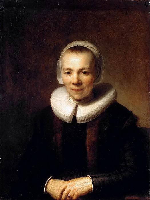 Rembrandt, Harmenszoon van Rijn - Portrait Bart Martens Domer. Hermitage ~ part 10