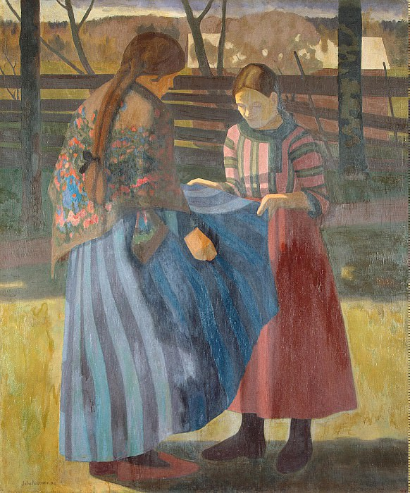 Rissanen, Juho Vilho - Two Girls. Hermitage ~ part 10