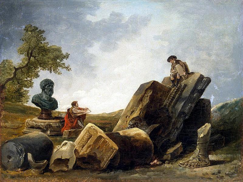 Robert, Hubert - Artists. Hermitage ~ part 10
