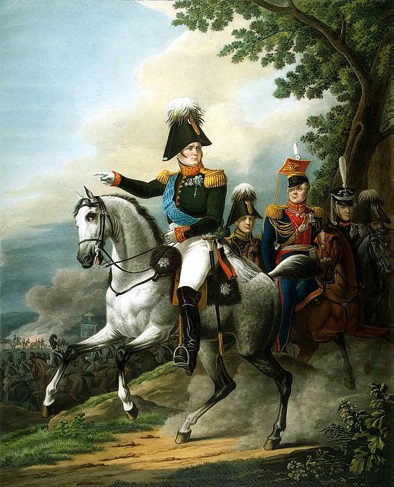 Paul, LA - Equestrian portrait of Alexander I. Hermitage ~ part 10