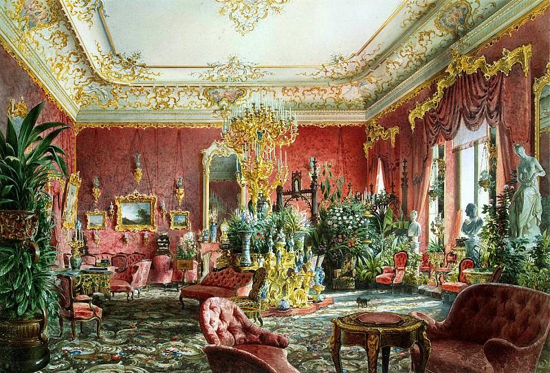 Премацци, Луиджи - Большая гостиная Михайловского дворца в Санкт-Петербурге. Эрмитаж ~ часть 10