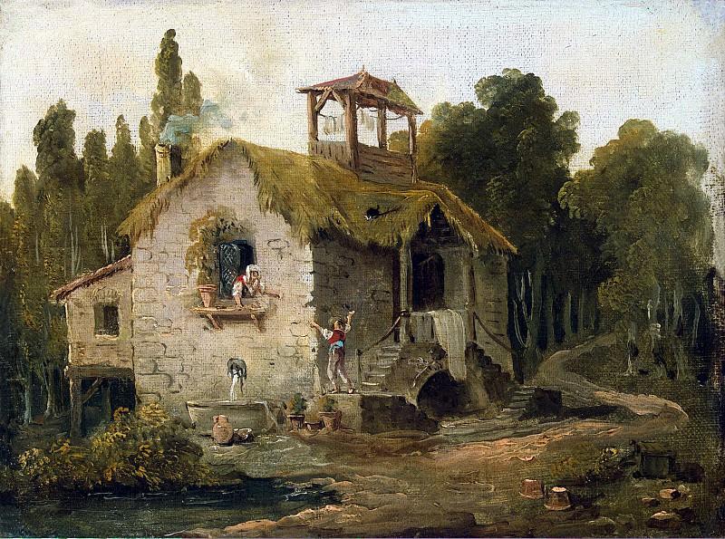 Robert, Hubert - Cabin in the Woods. Hermitage ~ part 10
