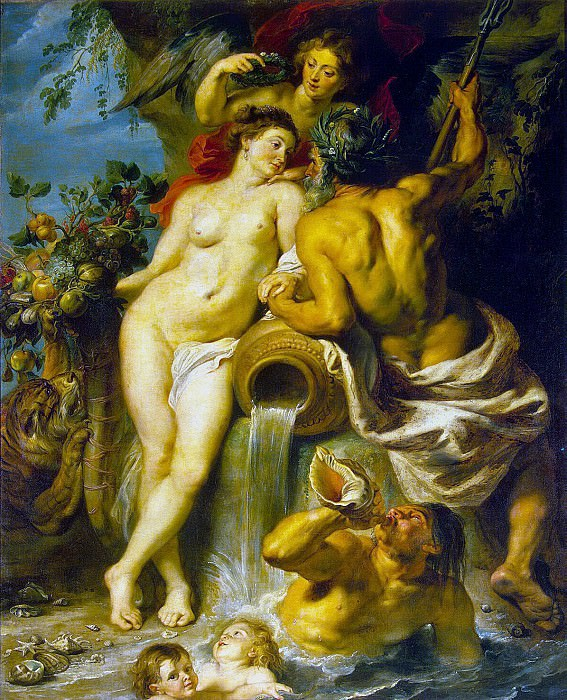 Rubens, Peter Paul - Union of Earth and Water. Hermitage ~ part 10