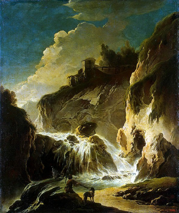 Roth, Philip Peter - Landscape with waterfall. Hermitage ~ part 10