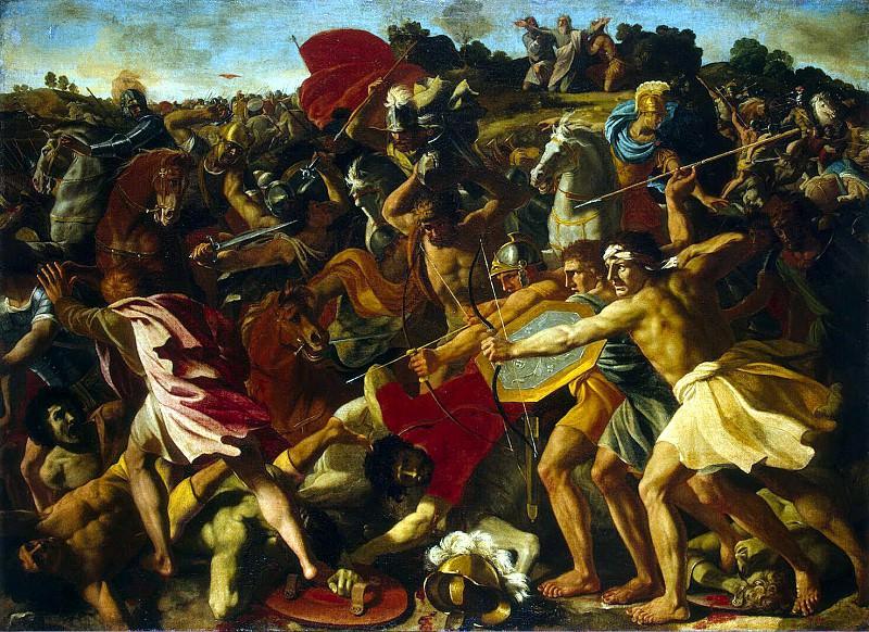 Пуссен, Никола - Битва израильтян с амалекитянами. Эрмитаж ~ часть 10