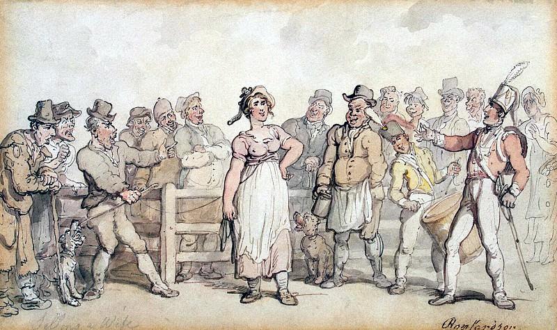 Роуландсон, Томас - Продажа жены. Эрмитаж ~ часть 10