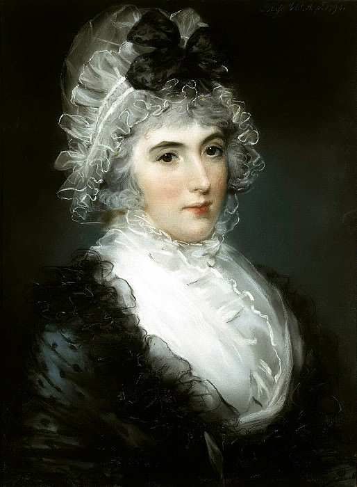 Russell, John - Portrait of Mrs. Janet Grayzel Cuming. Hermitage ~ part 10